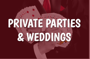 Private Parties & Weddings